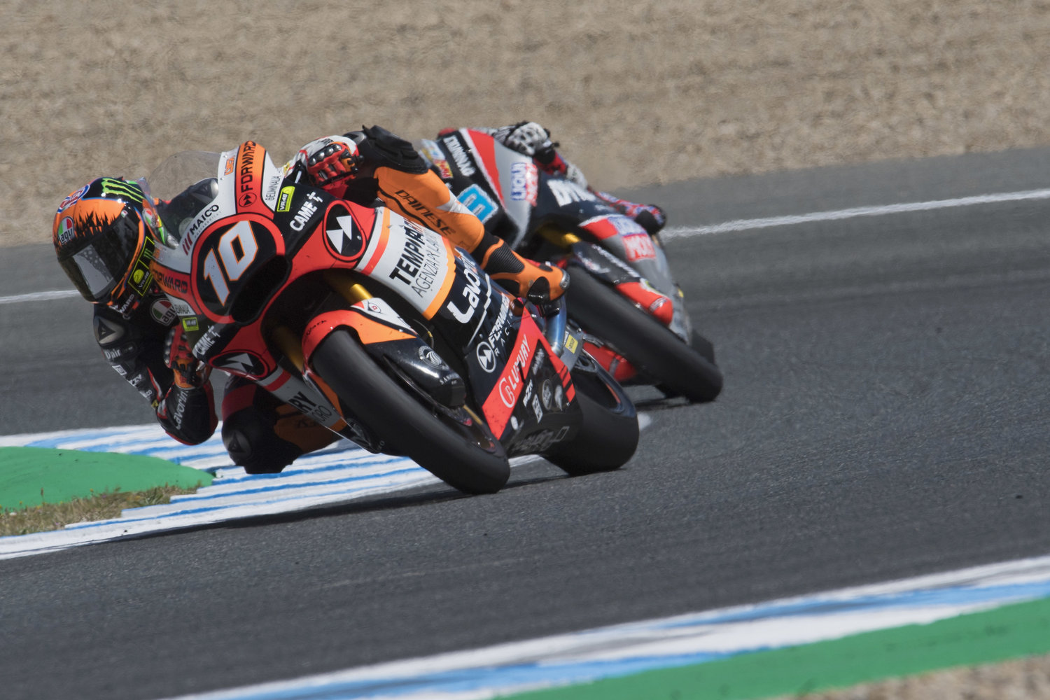 Forward Racing Team duo keen to hit the new French tarmac