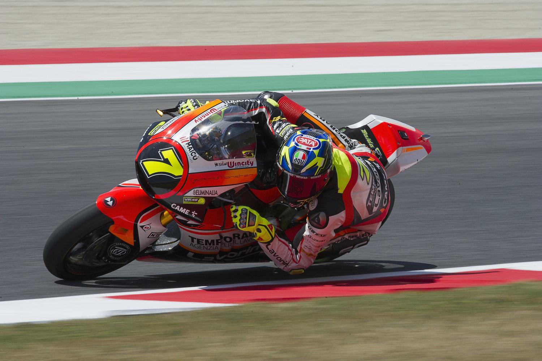Baldassarri and Marini commence home Grand Prix in positive fashion