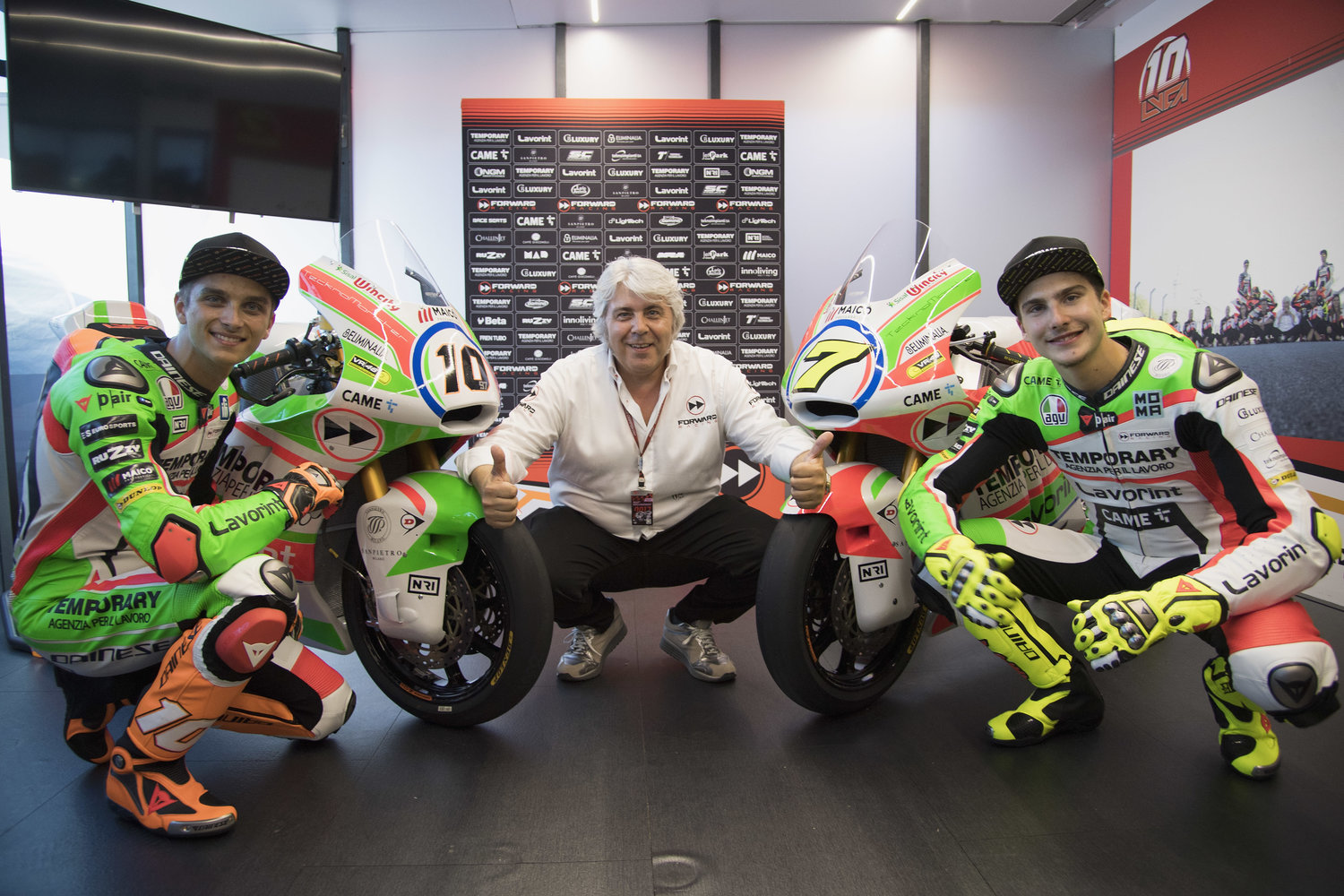 The Forward Racing Team launches special Italian livery for Mugello