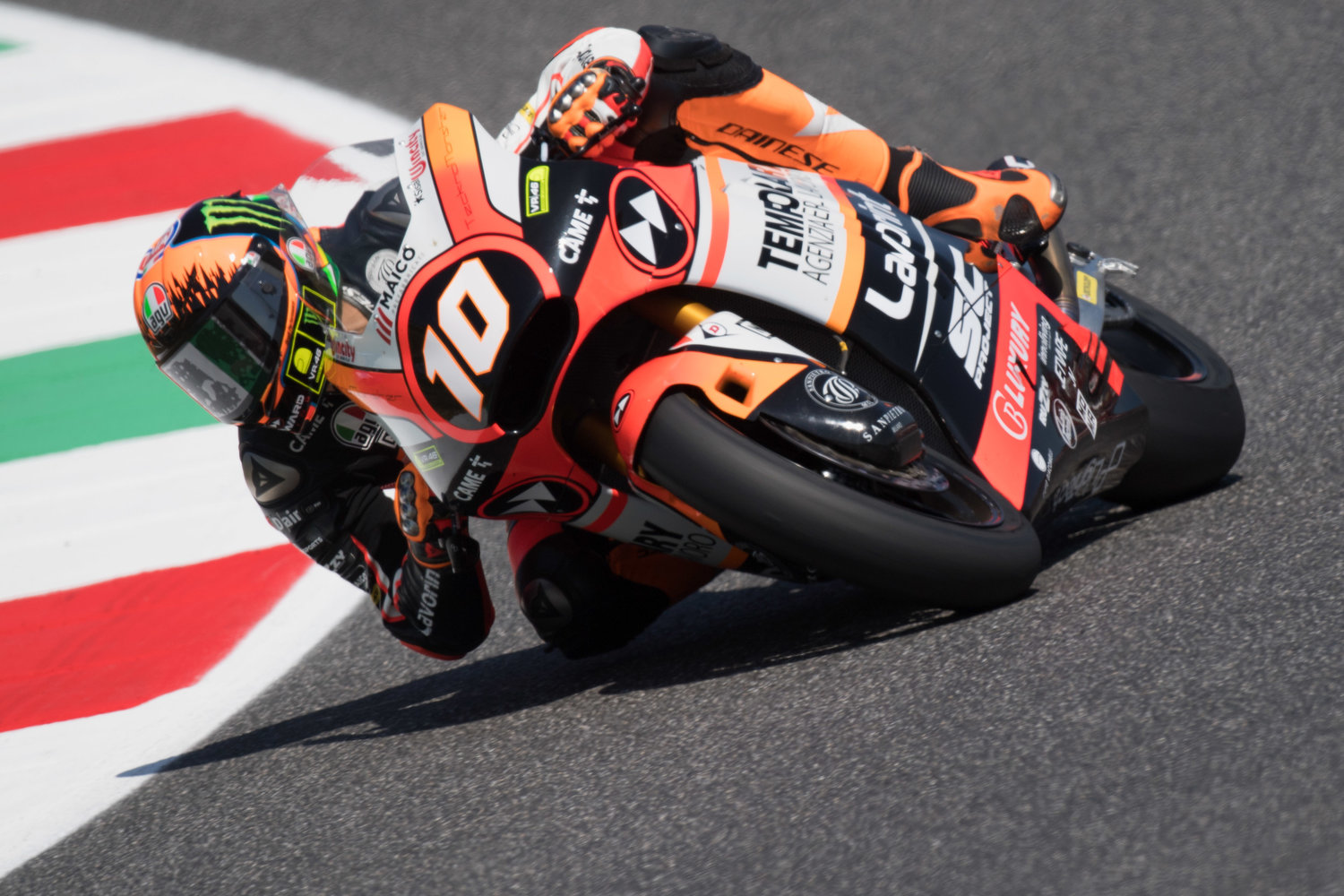 Marini and Baldassarri eager to start home GPfrom 2nd and 3rd row