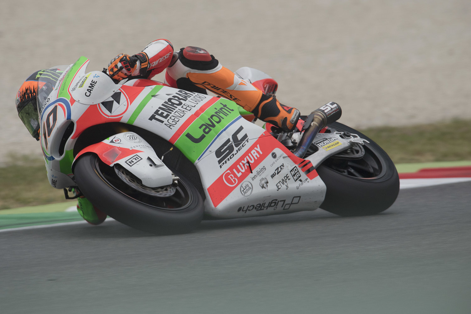 Marini secures top 6 finish with heroic effort