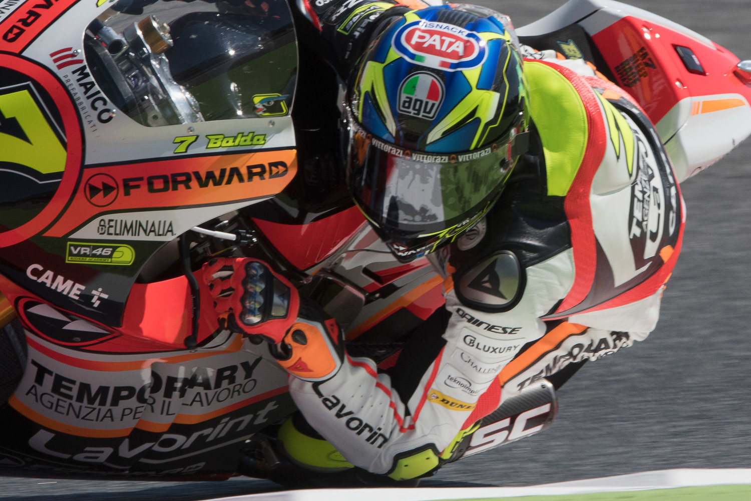 Baldassarri secures superb front row start in Montmelò, Marini withdraws from the GP
