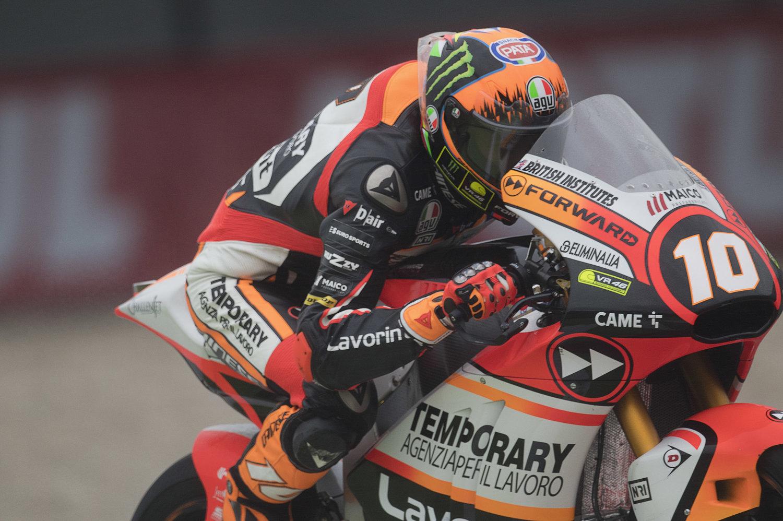 Forward Racing Team misses luck at Assen