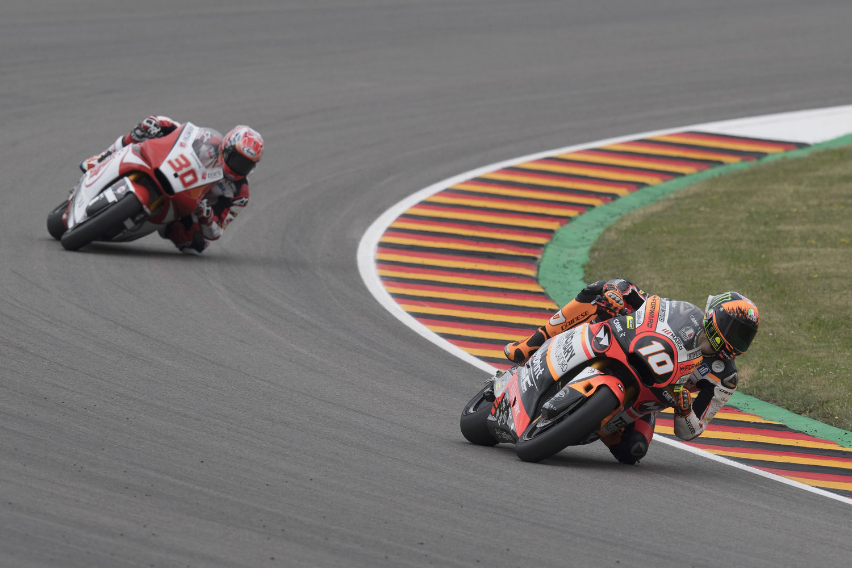 Marini retires from German Grand Prix