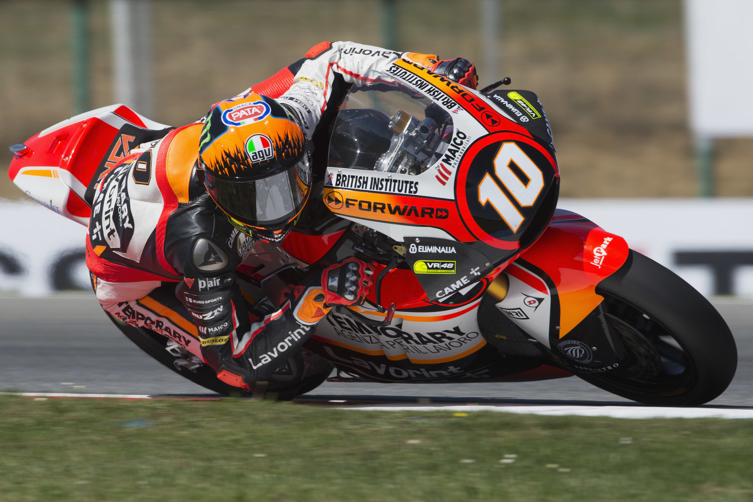 Marini delivers stunning performance in scorching Czech qualifying