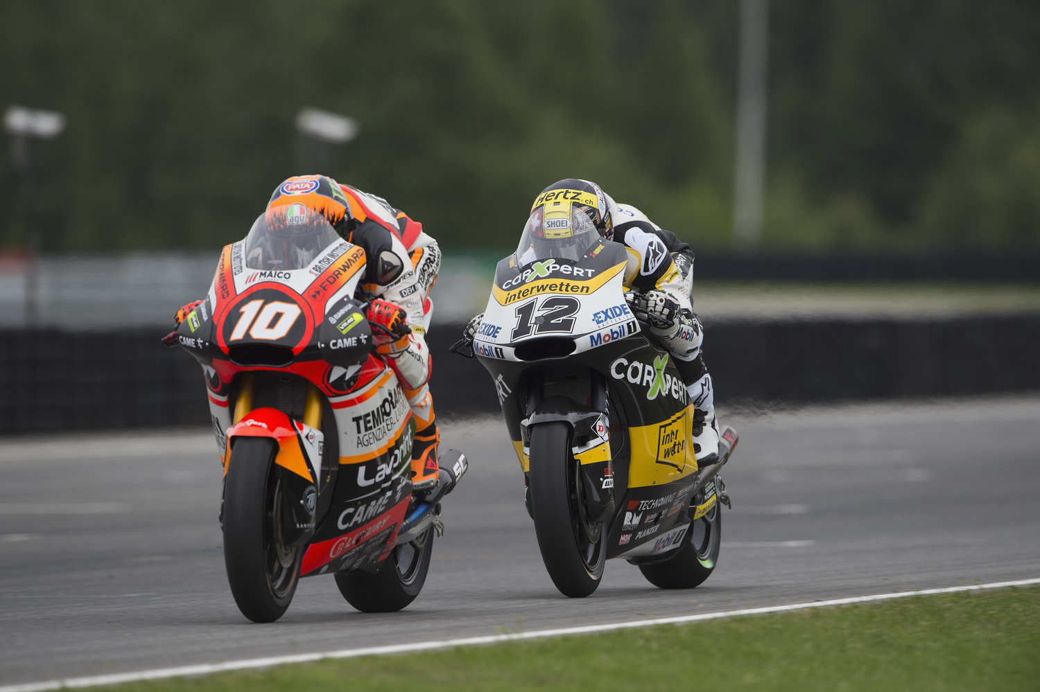 Marini storms to furious fourth in Brno to celebrate best career result