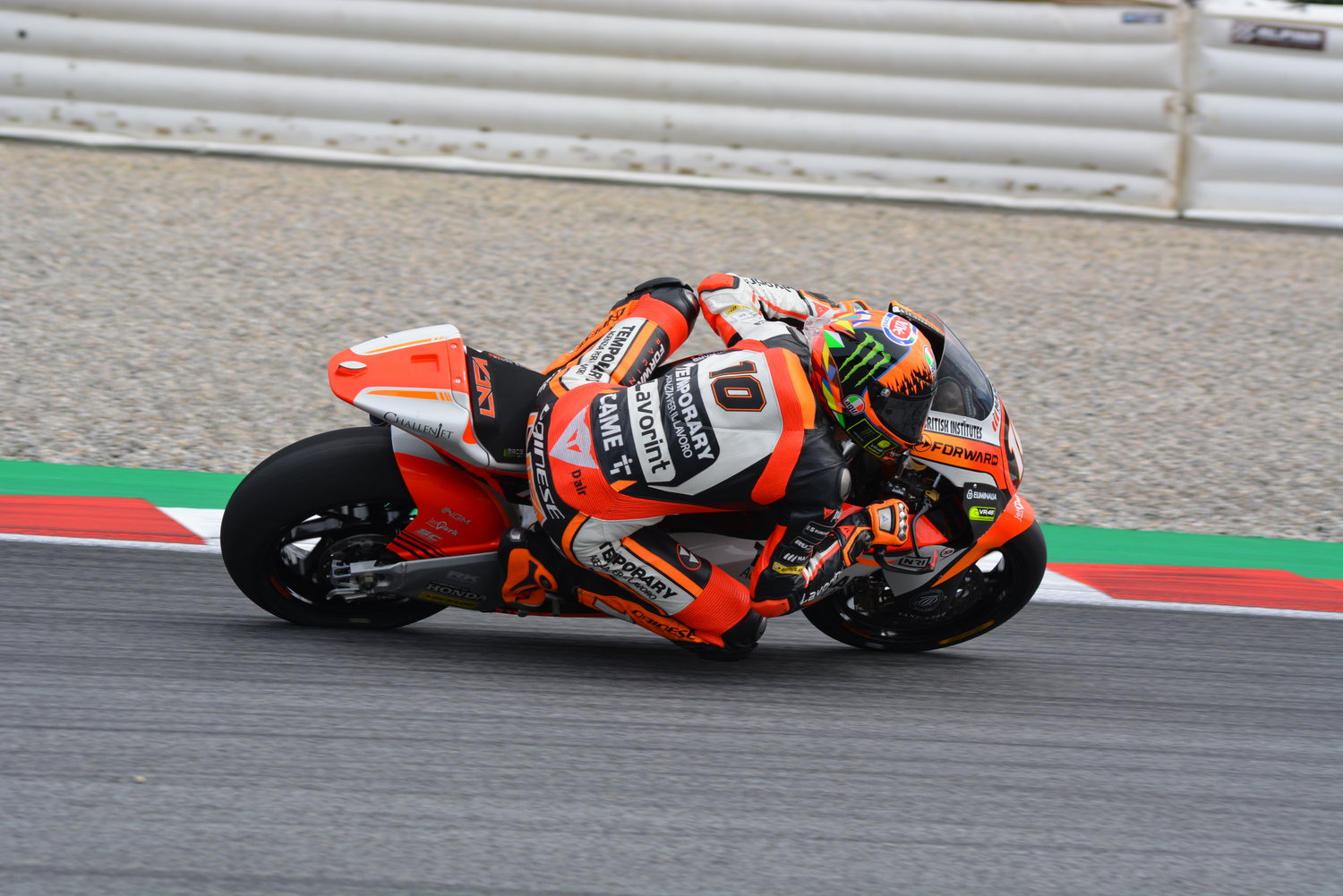 Marini and Baldassarri with missing luck in Spielberg