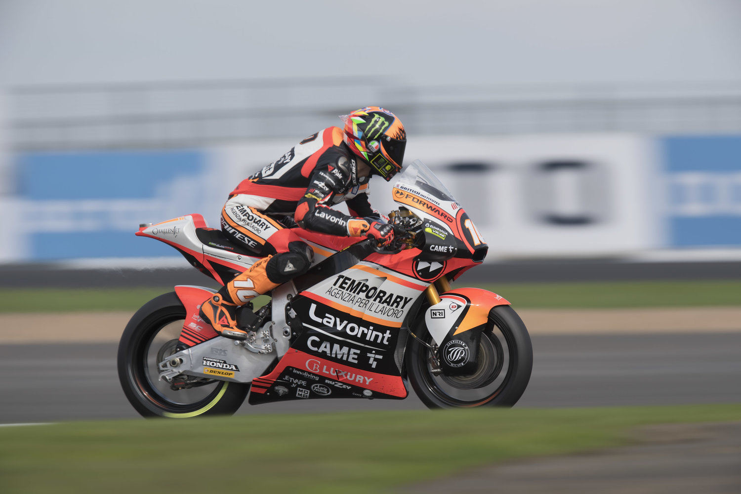Marini and Baldassarri boast with excellent English qualifying performance