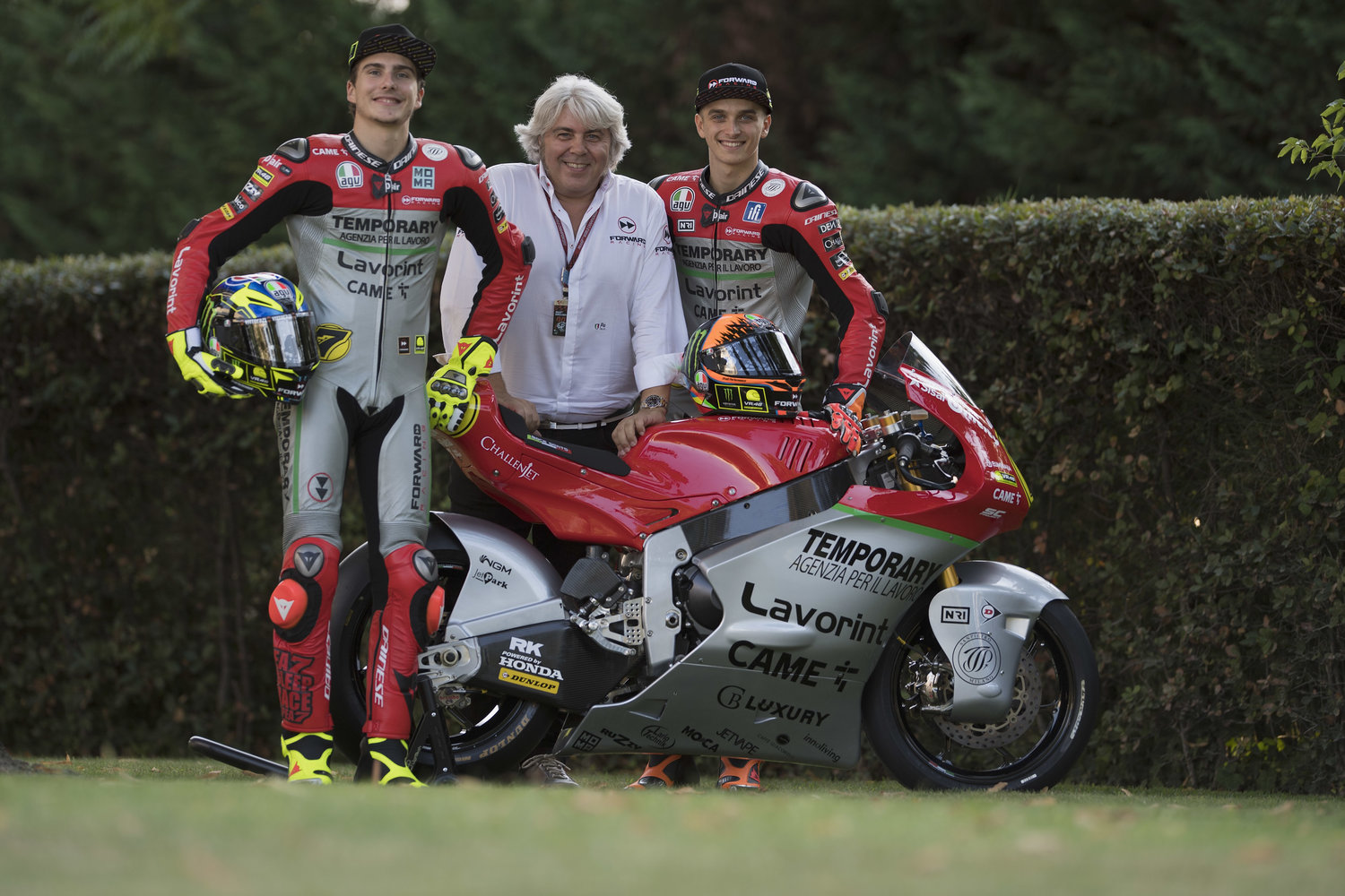 Back in time - Forward Racing Team presents special colors for their Home GP