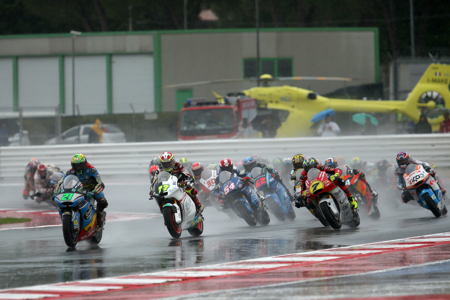 The Forward Racing Team leaves Misano without well-deserved laurels