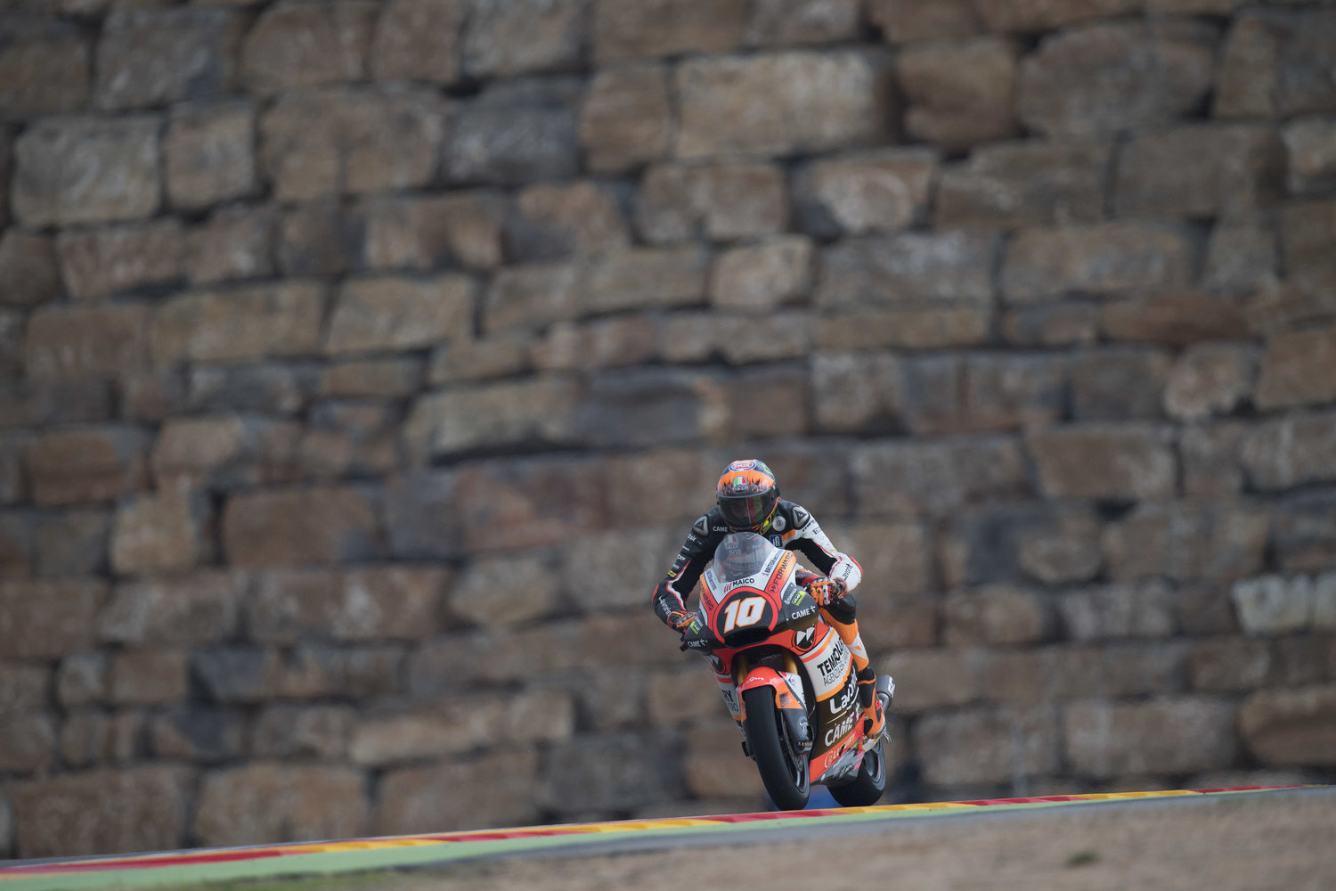 Forward Racing Team faces mixed conditions on day one in Aragon