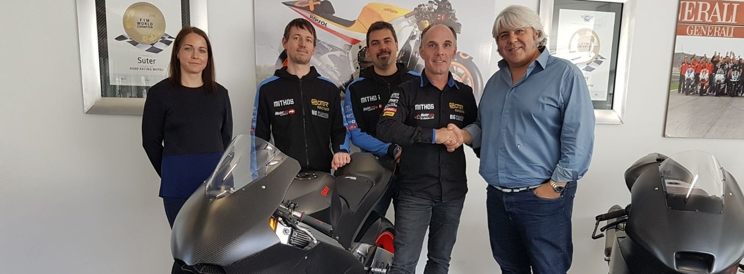 Forward Racing with Suter Moto2 Machines towards the future