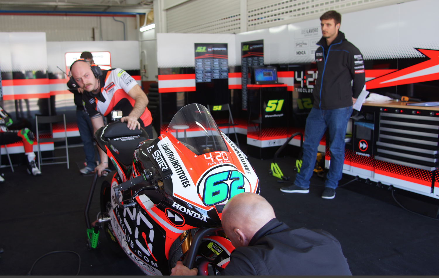 Third winter test completed in Valencia for the The Forward Racing Team