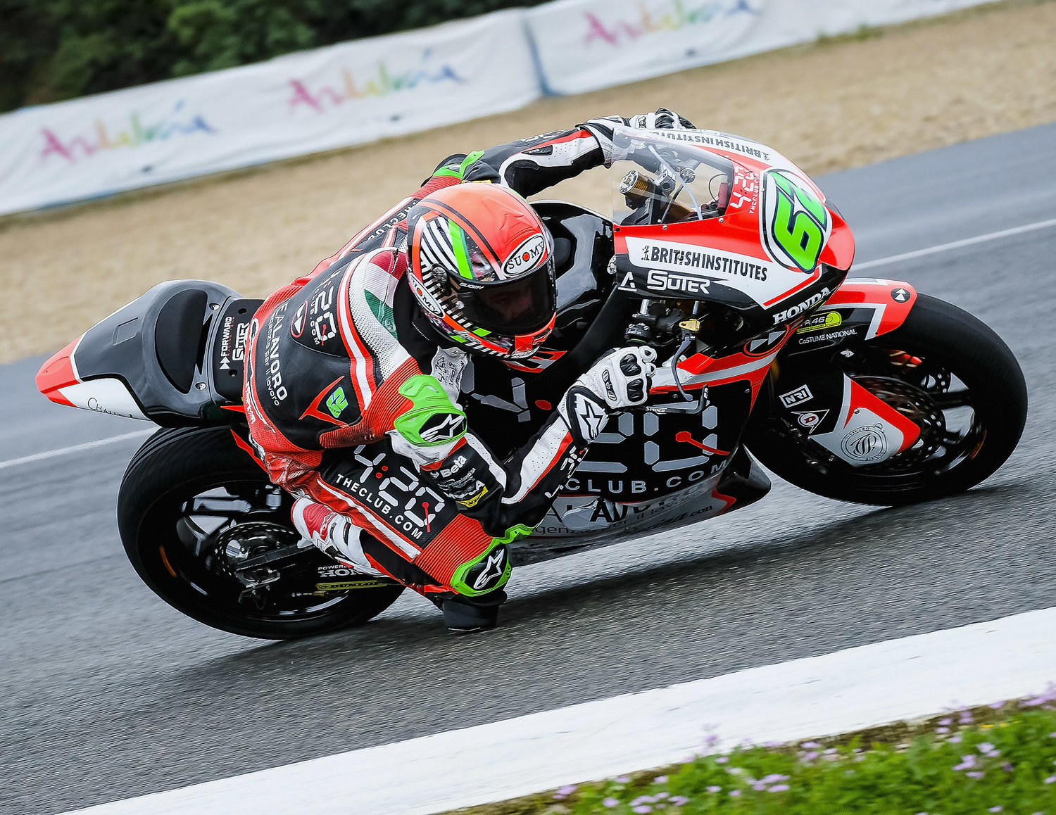 Test pre-season completed in Jerez for the Forward Racing Team