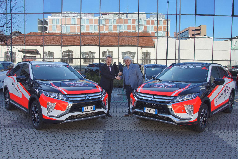 Mitsubishi Motors Italia and Forward Racing have signed a collaboration for the current Moto2 season
