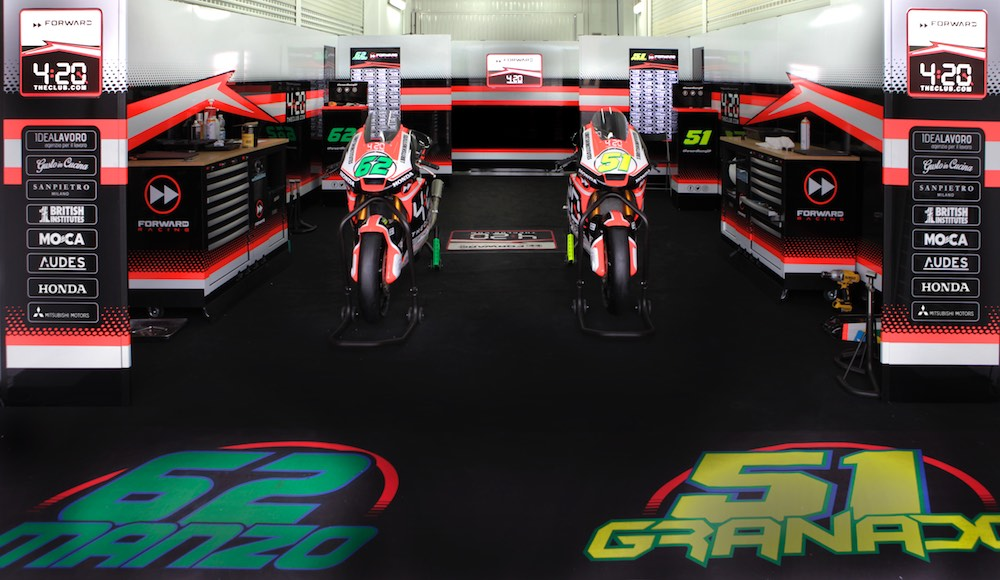 The Forward Racing Team lands in Argentina