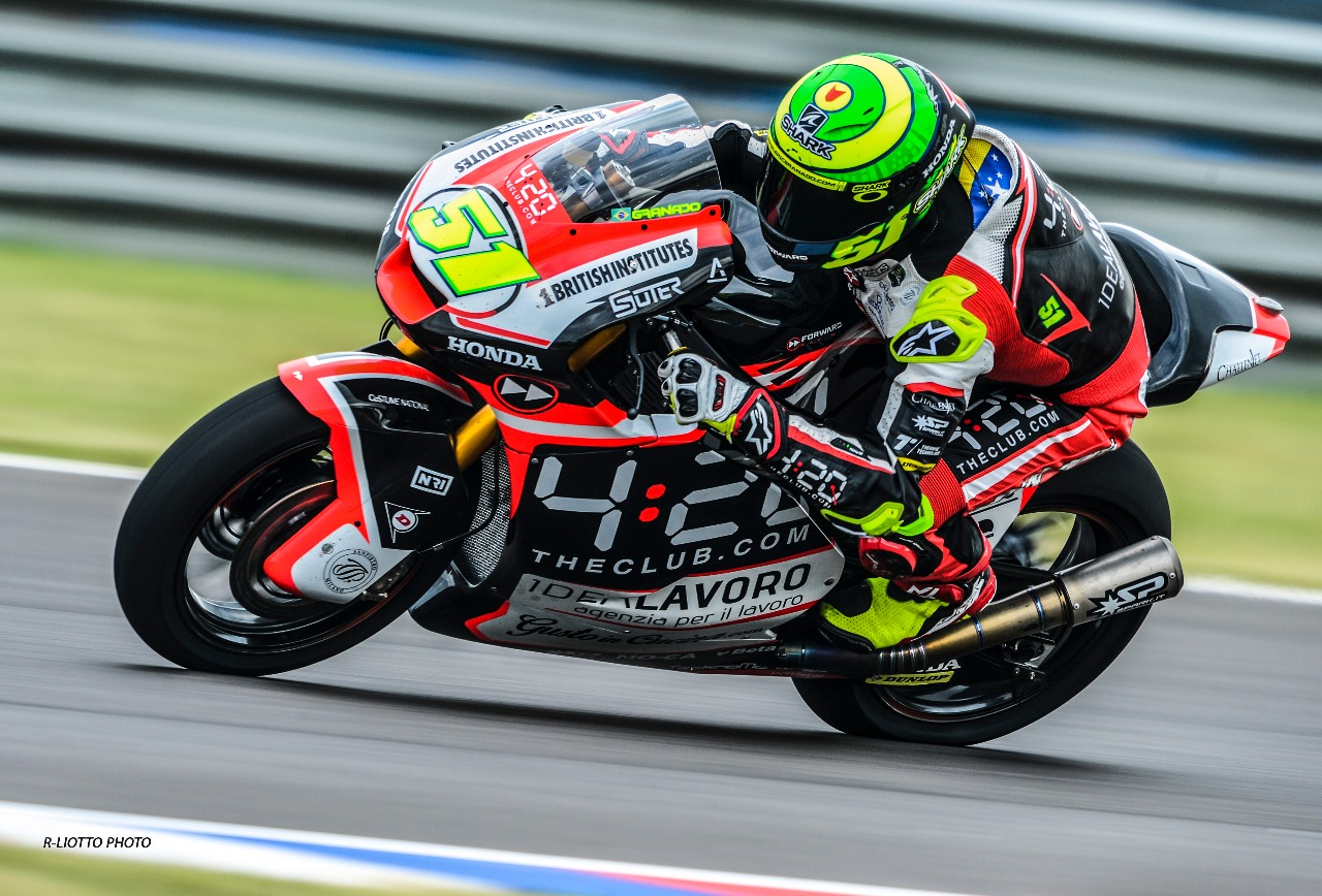 Comeback race for the Forward Racing Team in Argentina