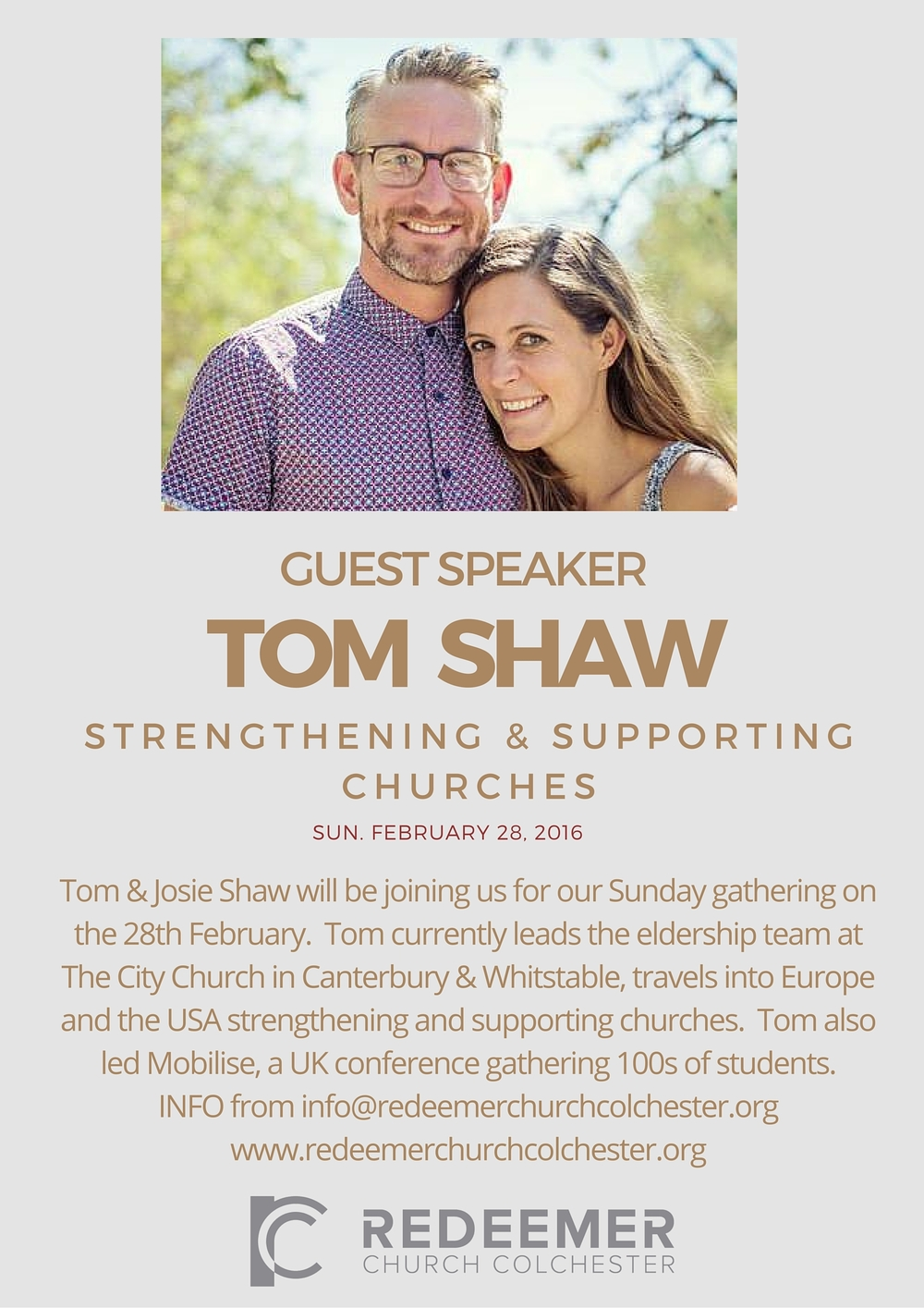 Tom Shaw Event Poster (Gold) - Feb 2016.jpg