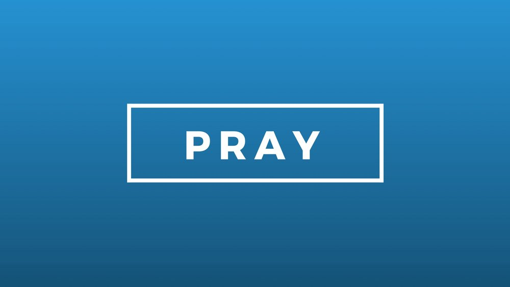 'PRAY' -JANUARY 2017