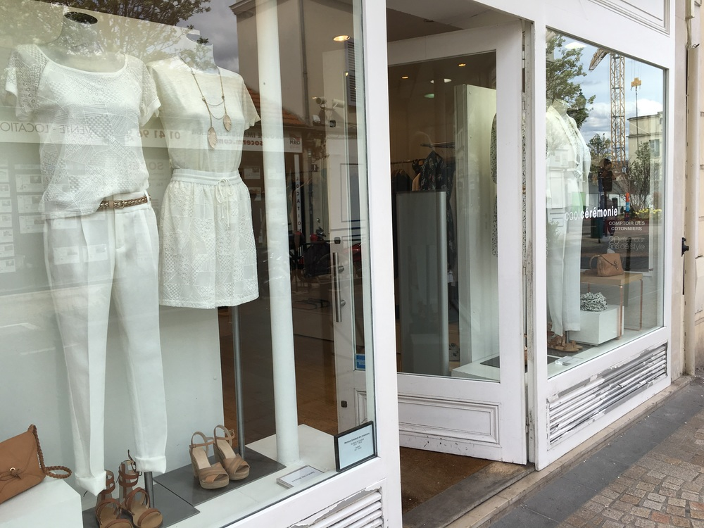 There are a lot of cute stores in town center, among them is Kooples