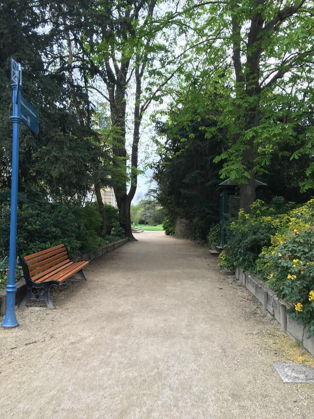Entrance to château Malmaison