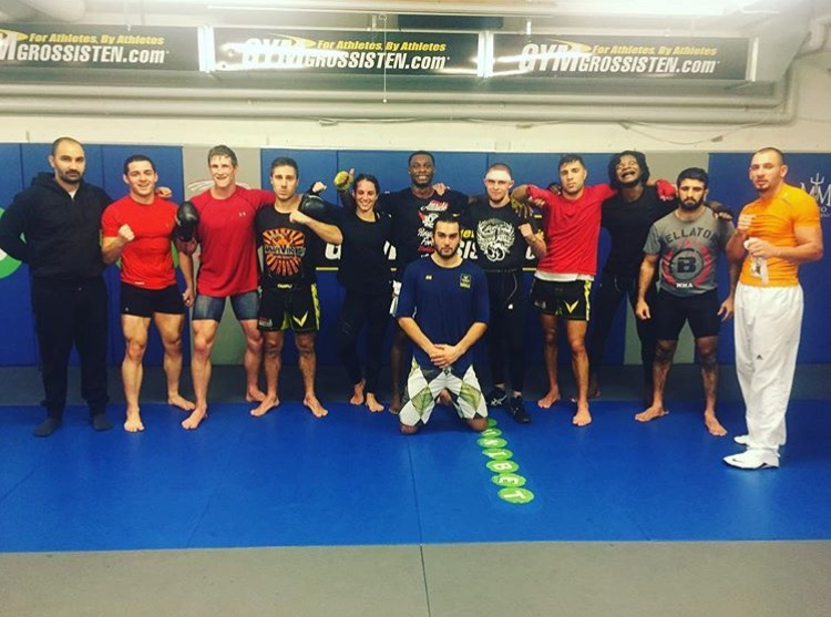 After sparring Thursday morning