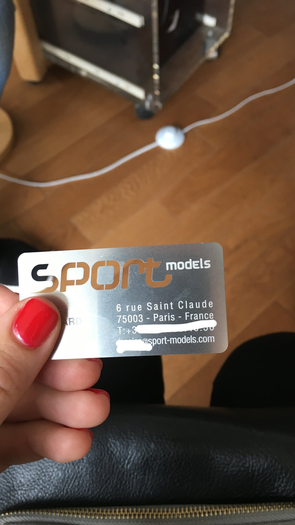 LOVE their blade looking business cards!