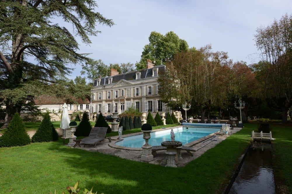 The magnificent château