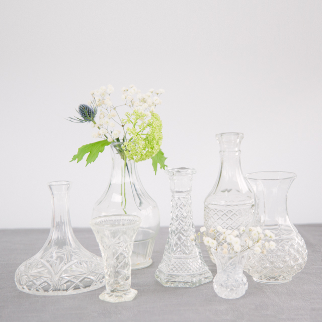 VASES - ORNATE - mini, small & medium