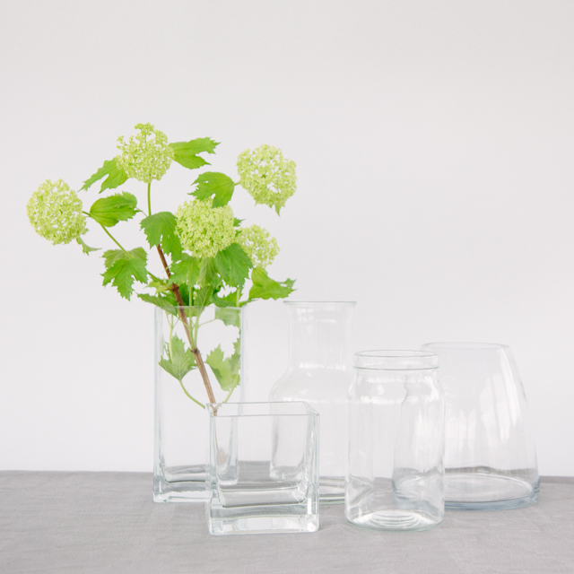 VASES - ASSORTED SHAPES - medium & large