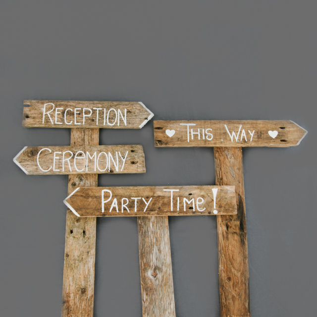 BESPOKE PROPS - WOODEN SIGNS - single, double & multi signed - made to order to your preference