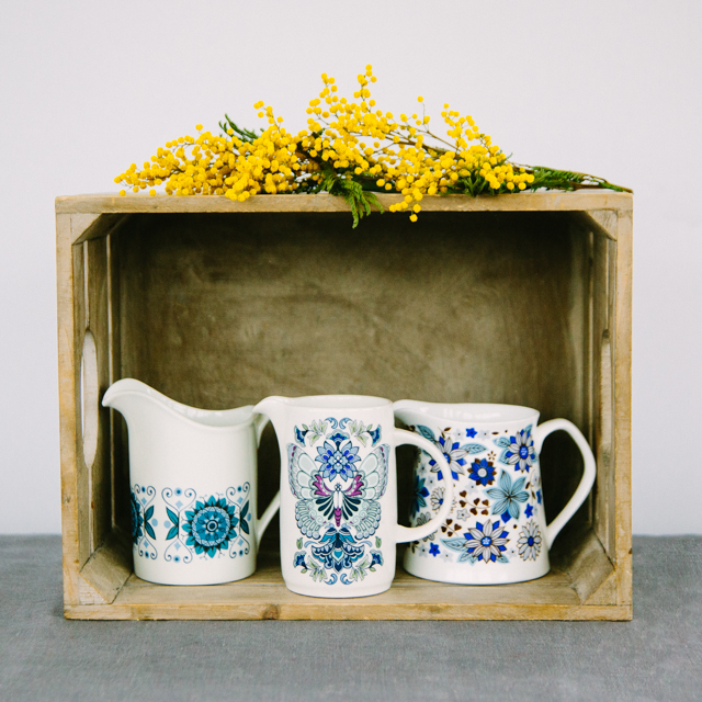 JUGS & SUGAR BOWLS - BLUE JUG COLLECTION - medium