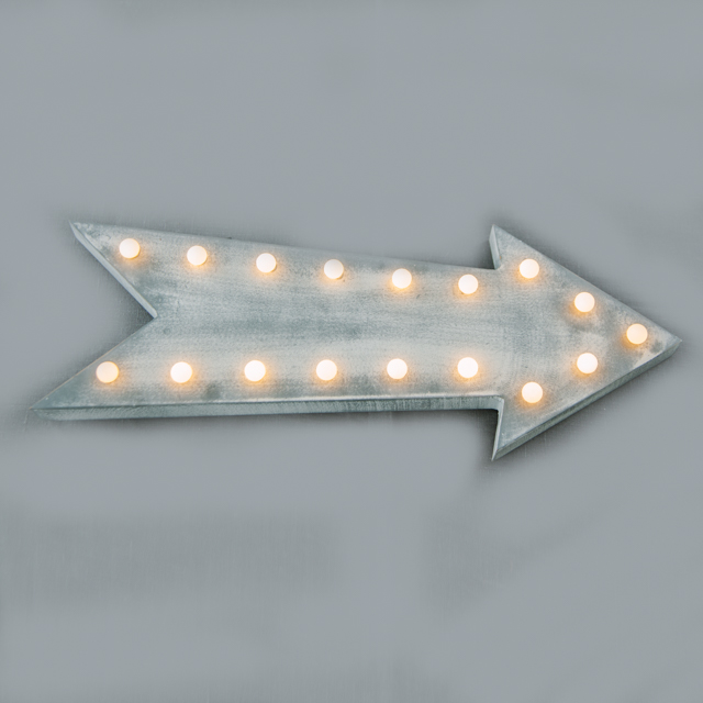FEATURE LIGHTING -  LED ARROW SIGN - medium