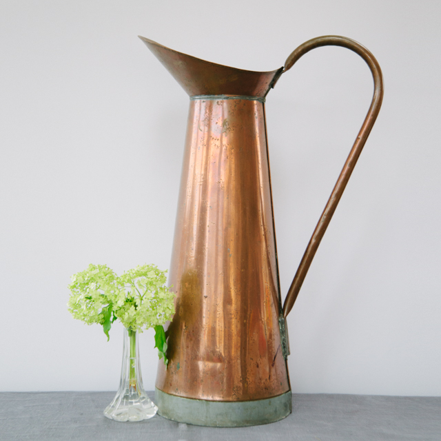 ODDS 'N' ENDS - COPPER JUG - x-large
