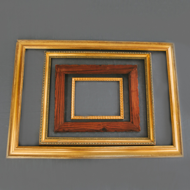 FRAMES - GOLD, WOODEN, WHITE & BLACK - medium, large & x-large