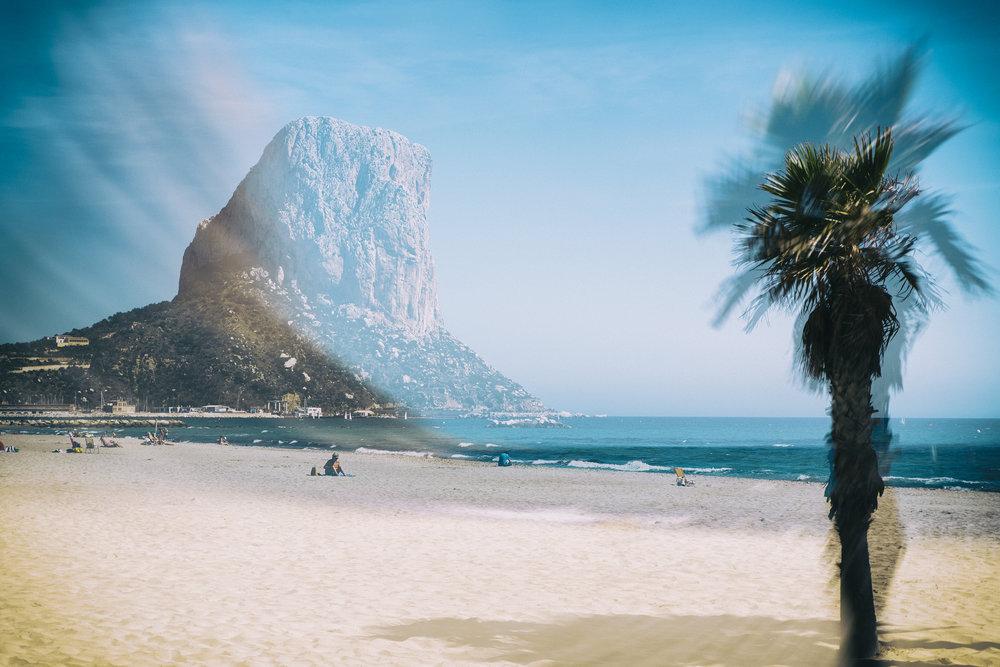 Calpe Beach   Spain