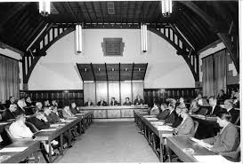 The Professorial Boardroom in a simpler time (ie not during #RepsElect)