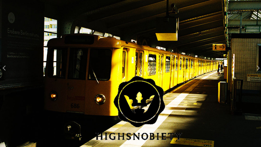 "HIGHSNOBIETY ""36 FRAMES"" RELEASE Luis Filippo"