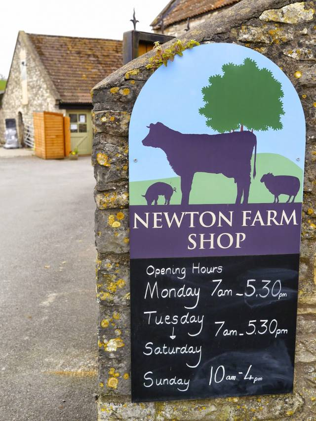 Newton farm shop - near Bath