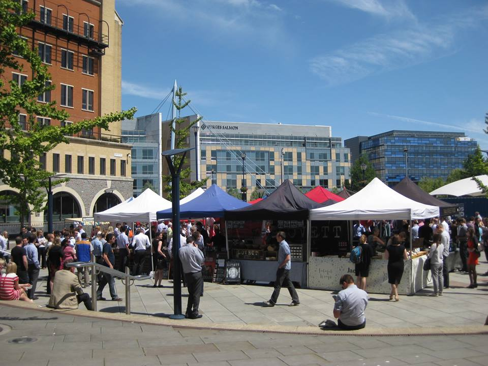 A weekly street food market taking place every Thursday in The Square, Temple Quay in the heart of Bristol. 11.30am - 2.30pm.