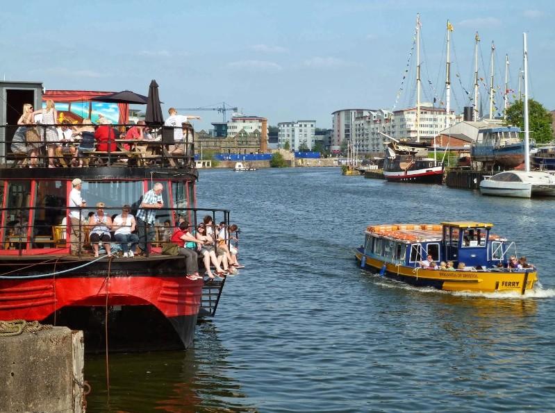 The Grain Barge - Bristol