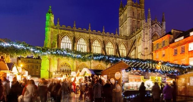 Looking for a truly fantastic festive shopping experience? Each year Bath is transformed into a magical Christmas shopper's paradise, as over 200 chaletspacked full of gorgeous Christmas gifts line the streets. Soak up the sights, smells and sounds as you wander around the market; we guarantee the aroma of warming mulled wine and freshly baked mince pies, enjoyed with a generous sprinkling of cheering carols that will get even the biggest of humbugs into the Christmas spirit!