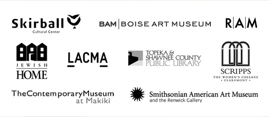 Museum, Institutional and Private Collections — Abbreviated listings. For complete resume,  download pdf (54K).