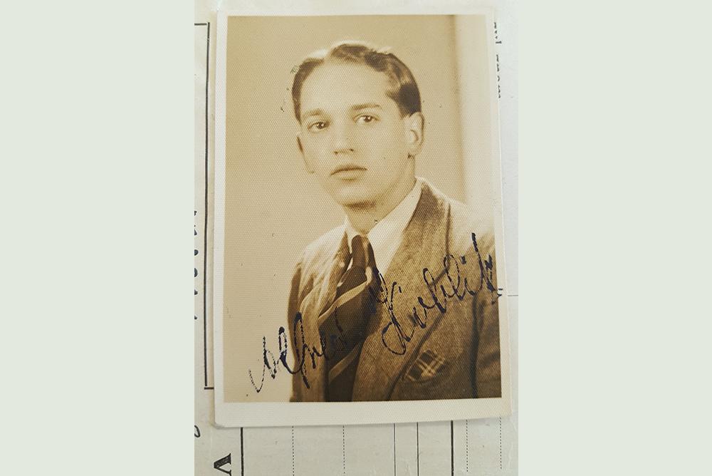 Alfred Koblitz b.1916 – d. June 1943 Auschwitz