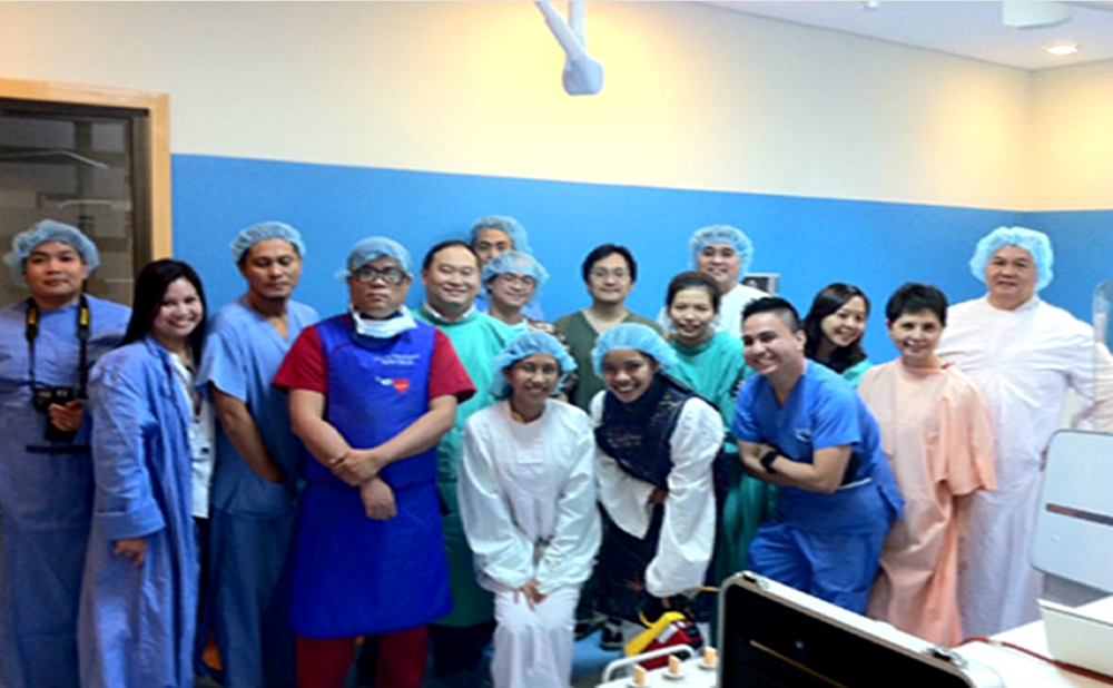 HBI HEart center team – the philippines