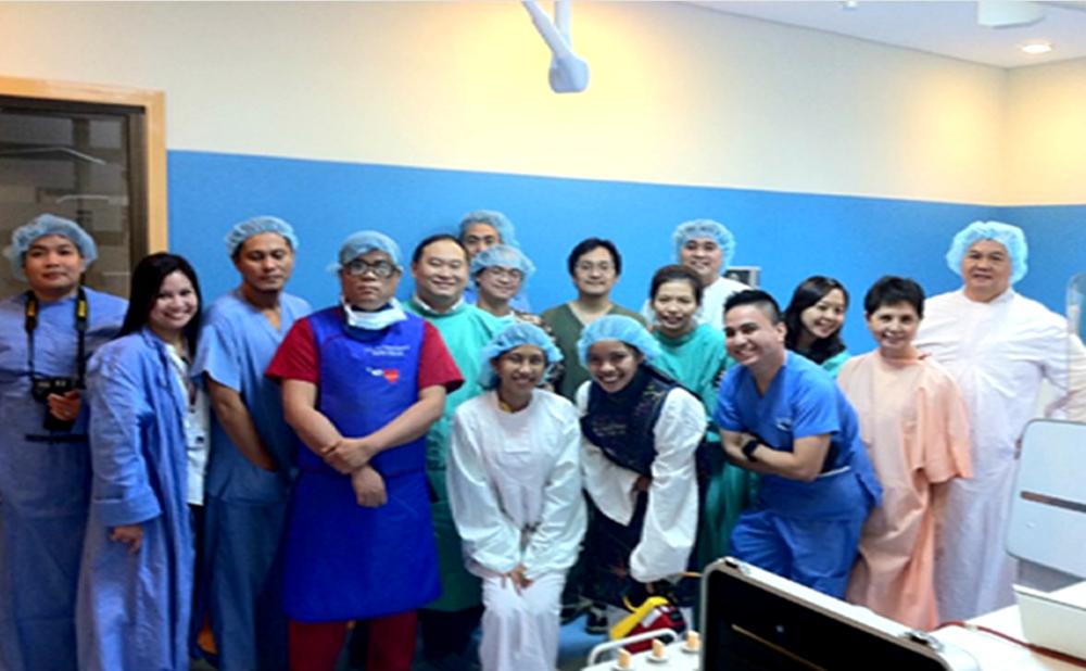 HBI HEart center team – the philippines