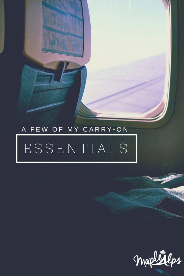 Carry-On Essentials for Your Next Flight!