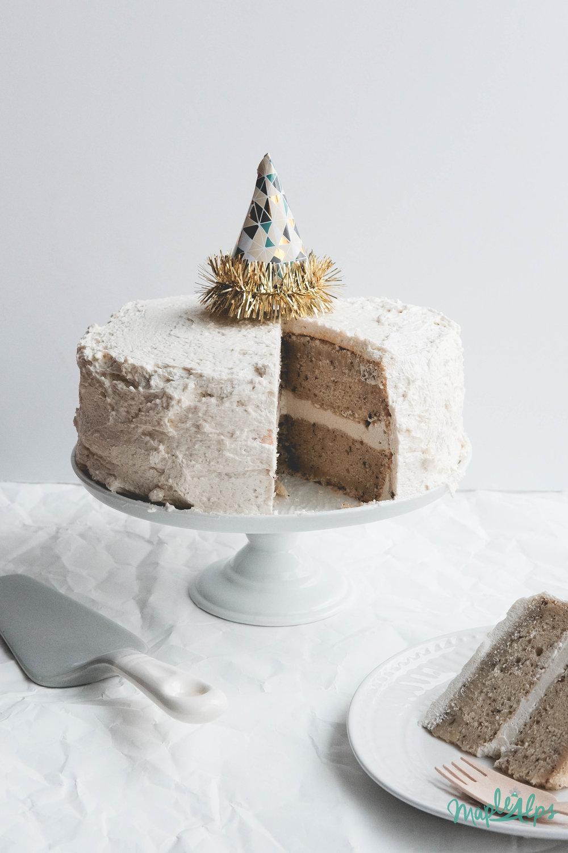 Vegan Cake | www.maplealps.com