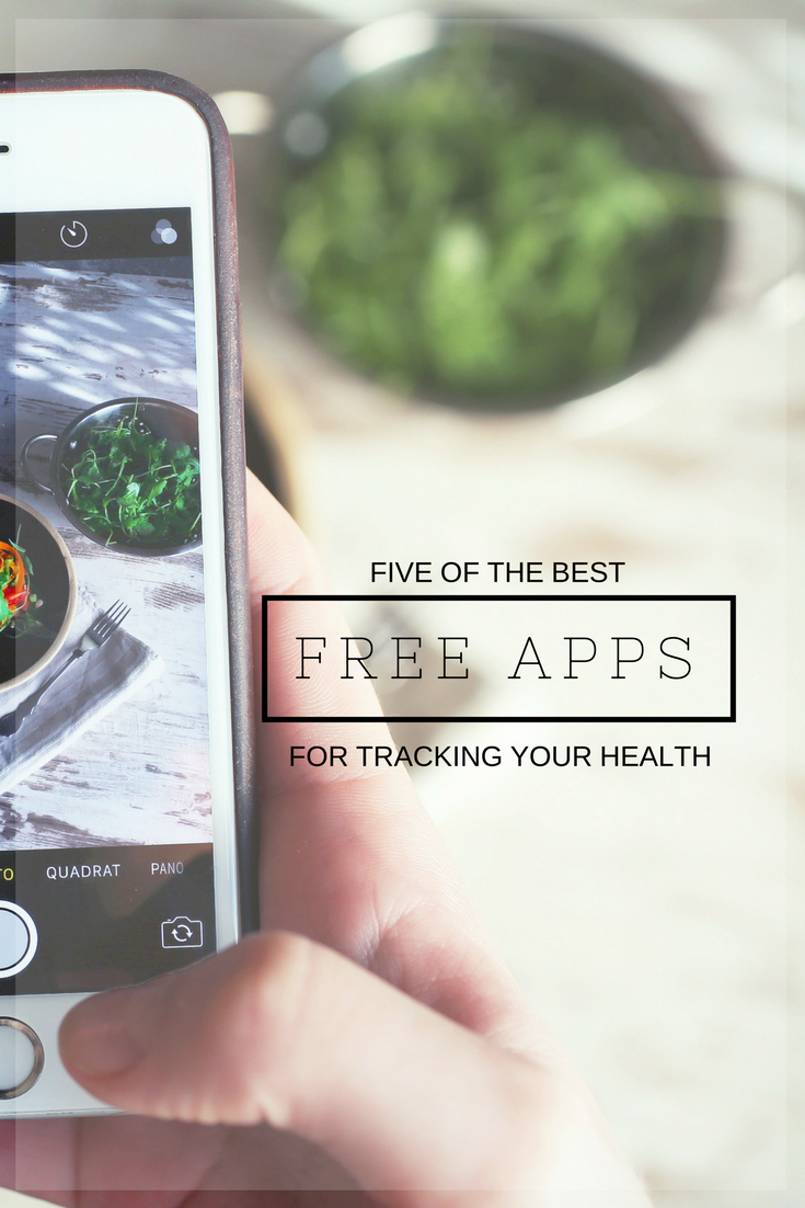 Five FREE Apps to Track Health! Great! | www.maplealps.com