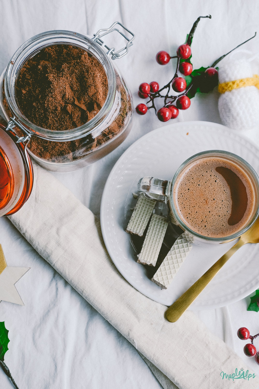 Vegan Hot Chocolate Mix | www.maplealps.com